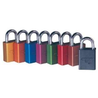 Solid Aluminum Padlocks   A1106RED KD  American lock Tools Home