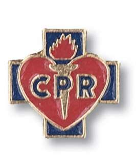 CPR Red Cross Lapel Pin Tac Medical insignia EMT NWT