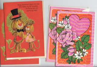 Vintage VALENTINE Greeting Cards 1960 70s DUTCH GIRL Cinderella
