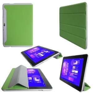 TAB 10.1 Smart Cover Case With Stand HP08 GN by Supcase (TM)   Green