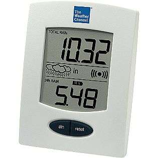 Wireless Rain Gauge  The Weather Channel Outdoor Living Weather