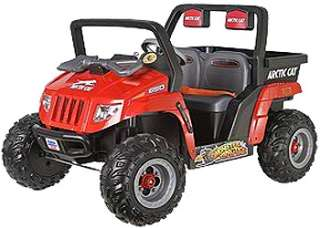 Fisher Price Red Arctic Cat Ride On   Power Wheels   Toys R Us