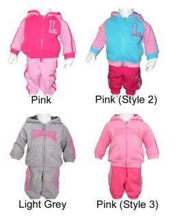 Lonsdale baby girls tracksuit outfit ,pants, jacket