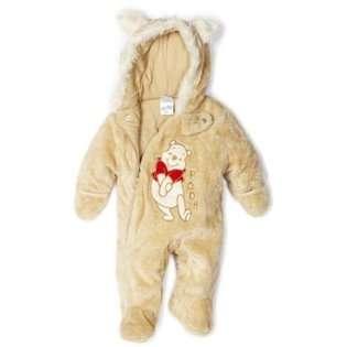 Disney Winnie the Pooh / Disney Baby boys Infant Teddy Fur Hood With
