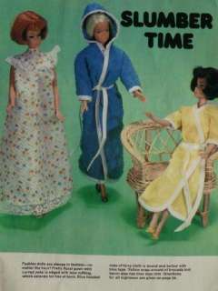 FAB 70s Barbie Fashion & Baby Doll Clothes Outfits Knit Crochet Sew