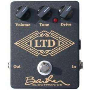 Barber Electronics LTD Low Gain Overdrive Effect Pedal