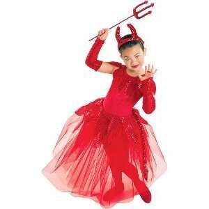 Darling Devil Toddler/Child Costume Size X Small Toys