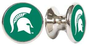 Michigan State Spartans Stainless Cabinet Knob/Pull