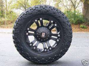 18 XD Monster Black Nitto Trail Grappler 35x12.50 18