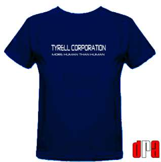 BLADE RUNNER TYRELL CORPORATION UNOFFICIAL TRIBUTE CULT MOVIE T SHIRT