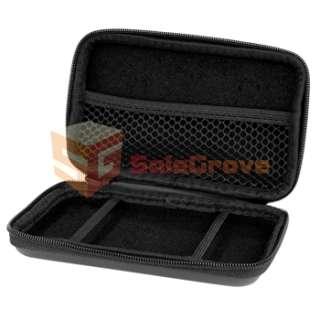 For Nintendo 3DS Travel Black Airform Case Game Hard Bag Skin EVA