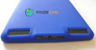 NEW BLUE  Kindle TOUCH Silicone GEL Case Cover Skin
