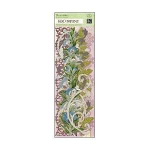 Flora & Fauna Swirl Adhesive Borders 12 Arts, Crafts