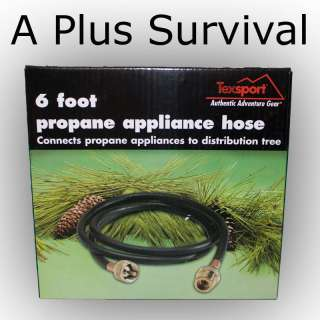 Foot Propane Appliance Hose for Stove Lantern Heater