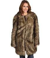 MICHAEL Michael Kors Long Faux Fur Jacket $79.99 (  MSRP $225