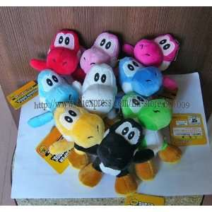 ems 100/lot high quality soft plush super mario bros yoshi