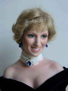 DIANA PRINCESS OF WALES ASHTON DRAKE PORCELAIN DOLL 20