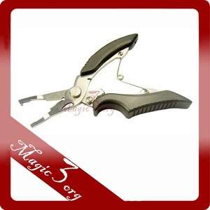 NEW Fishing Pliers Scissors Tackle Stainless Steel FPN02