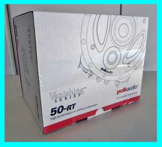 POLK AUDIO 50 RT 3 WAY VANISHING IN CEILING SPEAKER NEW
