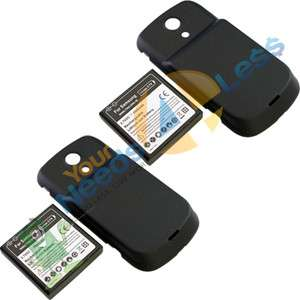 NEW 2X 3500mAh extended battery Samsung Galaxy S Epic 4G D700 + Back