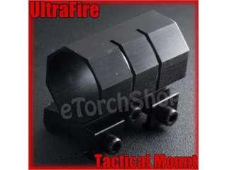 Ultrafire Flashlight Torch Laser Tactical Mount Ring 1