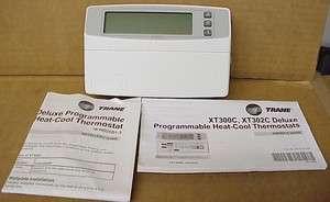 Trane Digital Heat/Cool 7 Day Programmable Thermostat # TAYSTAT300C