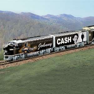 The Collectible Johnny Cash Express Train Collection Toys