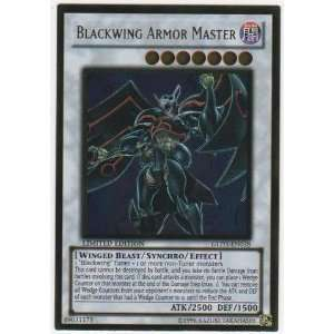 Yugioh Card Gold Series 3 Blackwing Armor Master GLD3 EN038 Ultra Rare