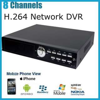 8CH 8 Channel Standalone H.264 Network CCTV security DVR Real Time D1
