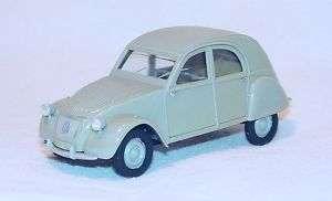 Heller 143 CITROEN 2CV Model Kit Car Hand Build NM #2