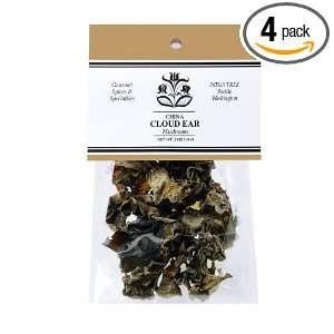 India Tree Cloud Ear Mushrooms, .5 Ounce Unit (Pack of 4):