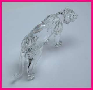Swarovski Crystal Tiger Figurine Retired 220470