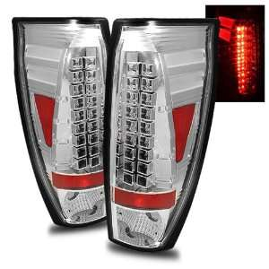 02 06 Chevy Avalanche Chrome LED Tail Lights Automotive
