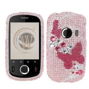 Huawei M835 Full Diamond Crystal Bling Protector Case   3d Pink