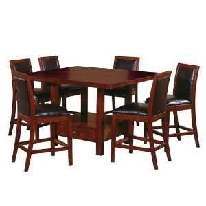 Baldwin Counter Height 7 pc. Dining Room Set: Furniture & Decor