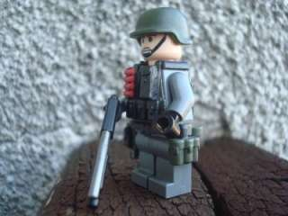 CUSTOM LEGO MINIFIG BATTLEFIELD PRIVATE SHOTGUN SHELLS