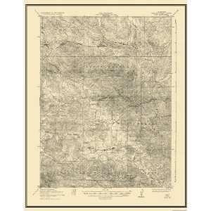 USGS TOPO MAP POZO QUAD CALIFORNIA (CA) 1922: Home & Kitchen