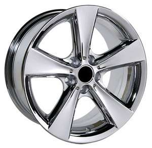 BMW Chrome Wheels Rims 3 series 318i 325i 330i 335i 328i 5 Flare Spoke