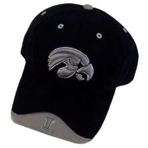 Iowa Hawkeyes Black Iceberg Hat