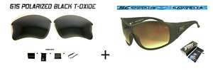 SE SUNGLASS & SE CUSTOM LENS PAK FOR OAKLEY FLAK JACKET
