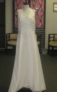 Size 18/20 BRIDAL WEDDING DRESS GOWN NWT Ivory Destination Halter