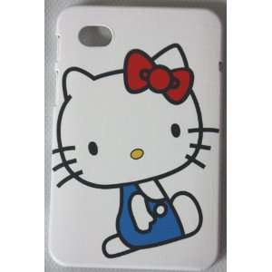 Koolshop Hello Kitty White Back Case for Samsung Galaxy