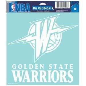 NBA Golden State Warriors 8 X 8 Die Cut Decal Sports