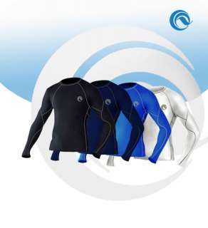 MENS SPORT BASELAYER UNDER THERMAL SHIRT SKIN GEAR S XL