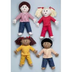 Down Syndrome Dolls White Girl Office Products