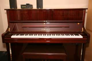 Yamaha DU1A Mark III Upright Disklavier Piano