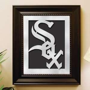 Chicago White Sox Framed Laser Cut Logo Wall Art Sports