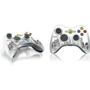 Cityscape Vinyl Skin for 1 Microsoft Xbox 360 Wireless Controller
