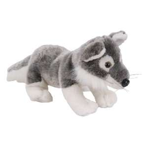 14 Gray Wolf Plush Stuffed Animal Toy: Toys & Games