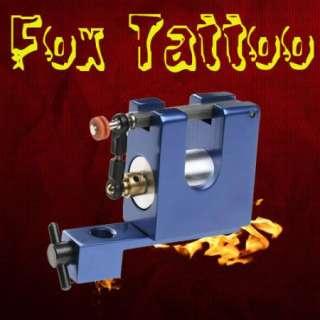 Blue Rotary Tattoo Machine Gun Kit Supply Liner Shader